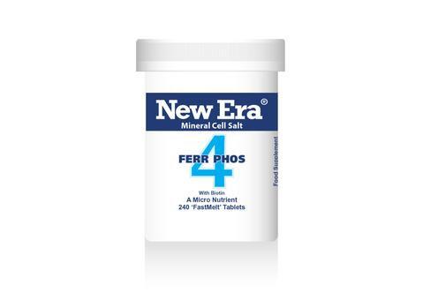 New Era No.4 Ferr Phos 240 Tablets