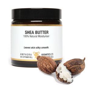 Amphora Aromatics Whipped Shea Butter (Plain) 120ml