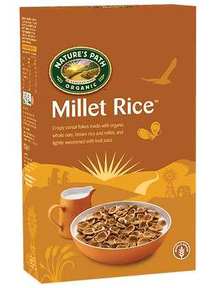 Nature's Path Organic Millet Rice Flakes 375g