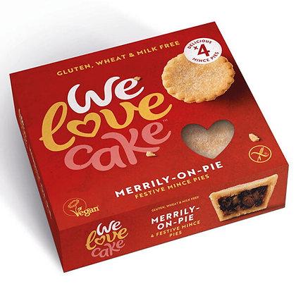 We Love Cake Gluten Free & Vegan Mince Pies (4 Pack)