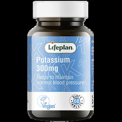 Lifeplan Potassium 300mg 60 Tablets