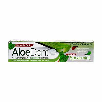 Aloe Dent Triple Action Spearmint Toothpaste 100ml