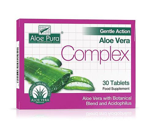 Aloe Pura Gentle Action Aloe Vera Complex 30 Tablets