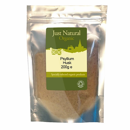 Just Natural Organic Psyllium Husk 200g