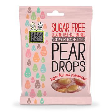 Free From Fellows Pear Drops Hard Boiled Sweets 70g