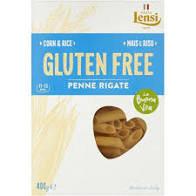 Pasta Lensi Corn & Rice Penne Rigate 400g