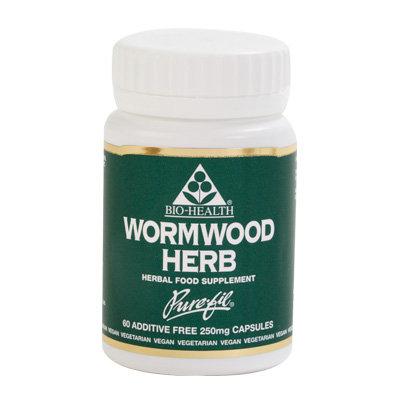 Bio-Health Wormwood Herb 250mg 60 Capsules