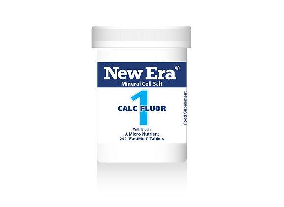New Era No.1 Calc Fluor 240 Tablets