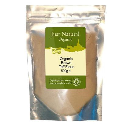 Just Natural Organic Teff Flour Brown 500g