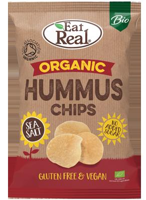 Eat Real Sea Salt Organic Hummus Chips 100g