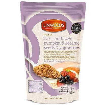 Linwoods Milled Flaxseed, Sunflower, Pumpkin, Sesame & Goji 425g