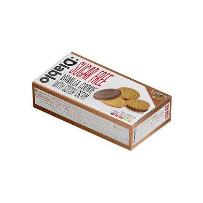 Diablo Sugar Free Creamed Filled Vanilla Sandwich Cookies