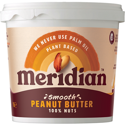 Meridian Smooth Peanut Butter 1kg