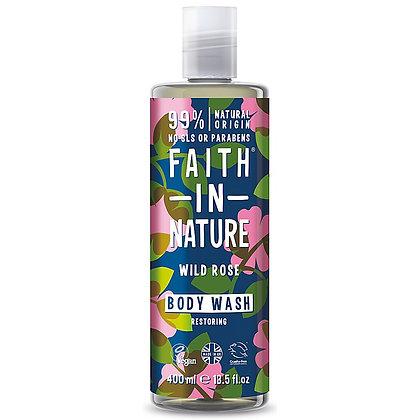 Faith in Nature Wild Rose Body Wash 400ml