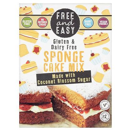 Free & Easy Free From Gluten Dairy Yeast Free Sponge Cake Mix 350g
