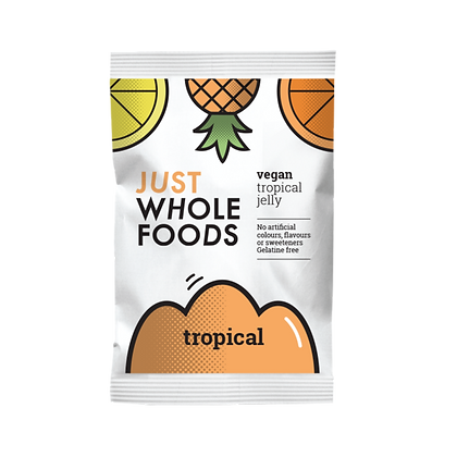 Just Wholefoods Vegan Tropical Jelly 85g