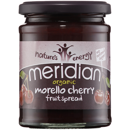 Meridian Organic Morello Cherry Fruit Spread 284g