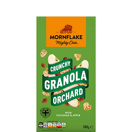 Mornflake Crunchy Granola Orchard 500g