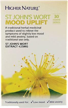 Higher Nature St John's Wort Mood Uplift 30 Tablets