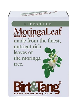 Birt & Tang Moringa Leaf 50 Tea Bags