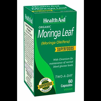 HealthAid Organic Moringa Leaf Superfood 60 Capsules