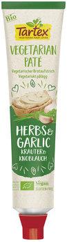 Tartex Organic Vegetarian Pate Herb & Garlic 200g