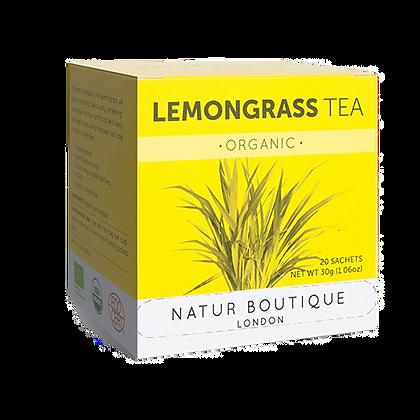 Natur Boutique Organic Lemongrass Tea 20 Tea Bags