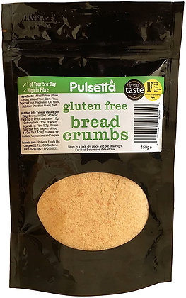 Pulsetta Gluten Free Breadcrumbs 150g
