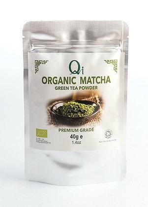 Qi Organic Matcha Green Tea Powder 40g