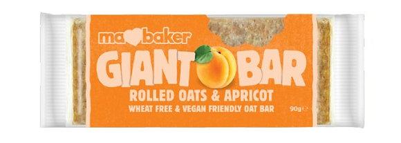 Ma Baker Rolled Oats & Apricot Flapjack Giant Bar