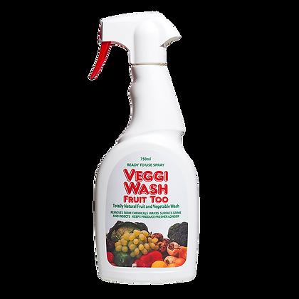 Veggi Wash Fruit Too Fruit & Vegetable Wash Spray 750ml