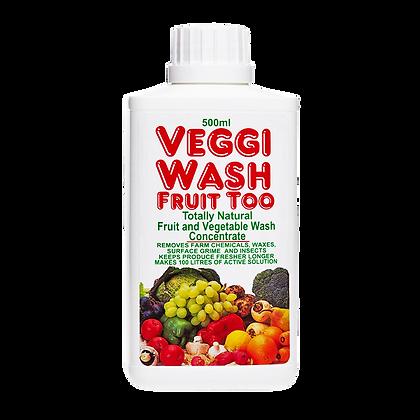 Veggi Wash Fruit Too Fruit & Vegetable Wash Concentrate 500ml