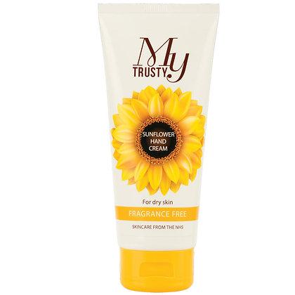 My Trusty Sunflower Hand Cream Fragrance Free 100ml