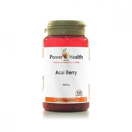 Power Health Acai Berry 500mg 120 Capsules