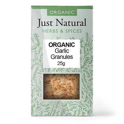 Just Natural Organic Garlic Granules 25g