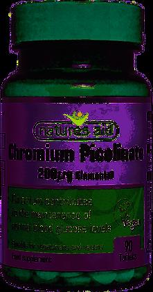 Natures Aid Chromium Picolinate 200ug 90 Tablets