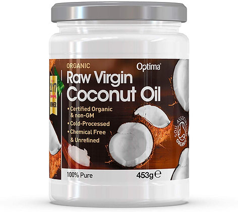Optima Organic Raw Virgin Coconut Oil 453g