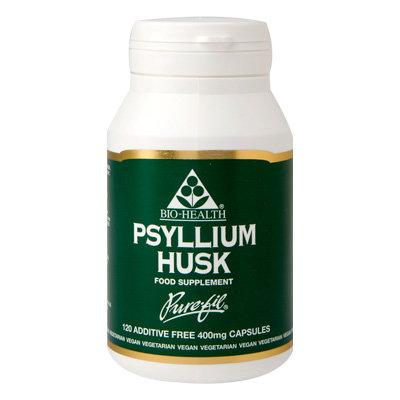 Bio-Health Psyullium Husk 400mg 120 Capsules