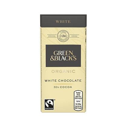 G&B's Organic White 35g Bar