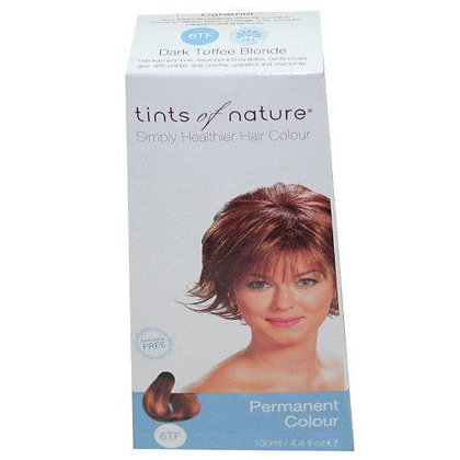Tints Of Nature Organic 6Tf Dark Toffee Blonde Permanent Hair Colour 130ml