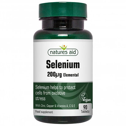 Natures Aid Selenium 90 Tablets