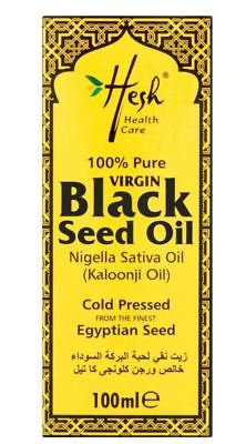 Hesh Pure Virgin Black Seed Oil 100ml