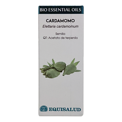 Equisalud Organic Cardamom Bio Essential Oil 10ml