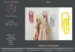 2.1 Paperclip Coathanger