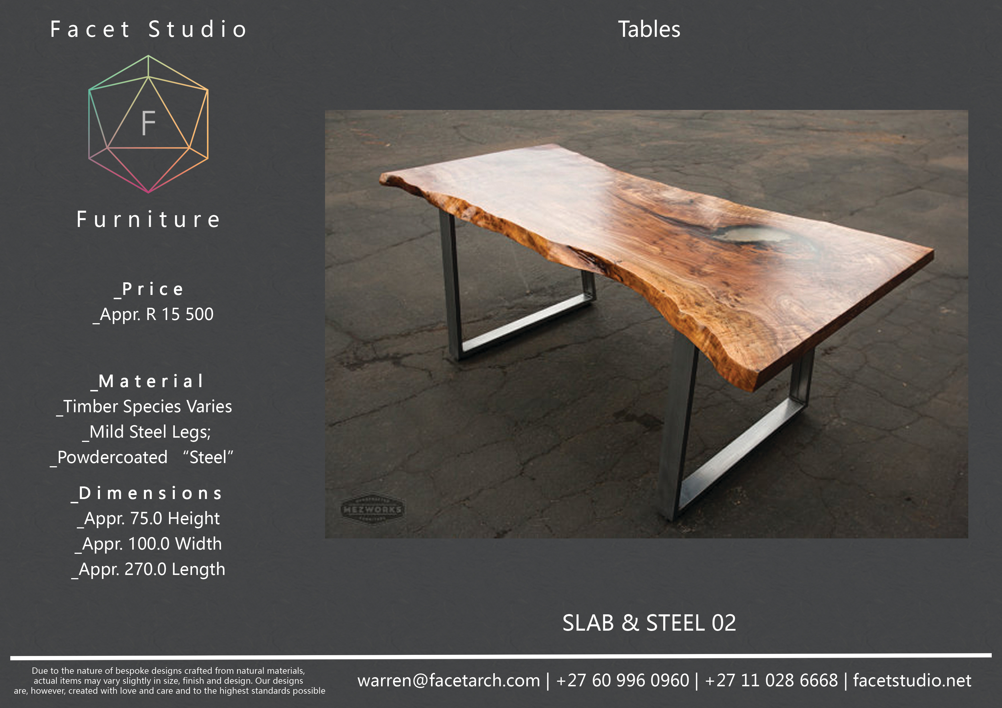Table S&S 02