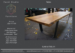 Table S&S 01