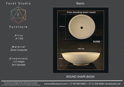 6.6 Round Shape Basin