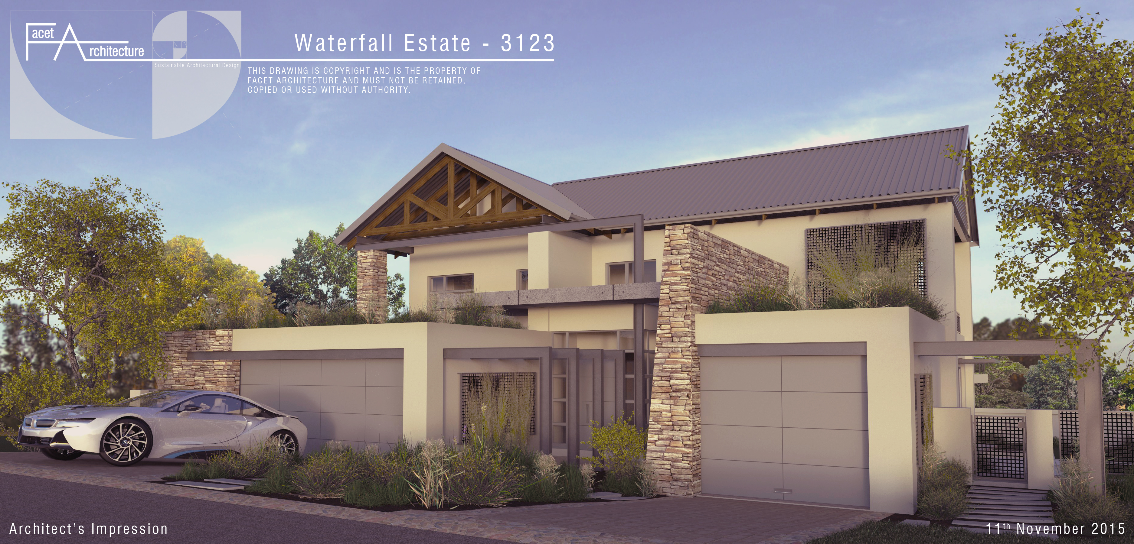 2015-11-11 3123 Waterfall 3123 Street Render
