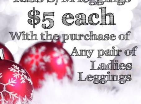 $5 Kids Leggings