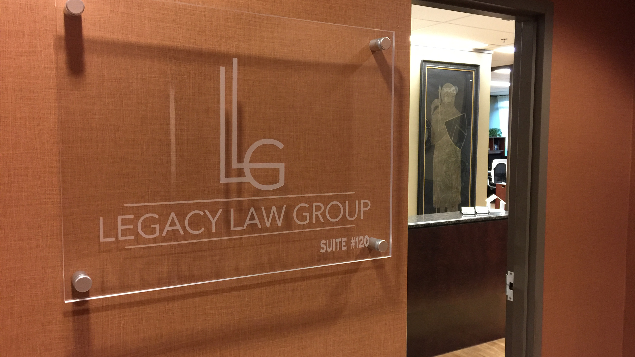LEGACY LAW GROUP Office Entrance